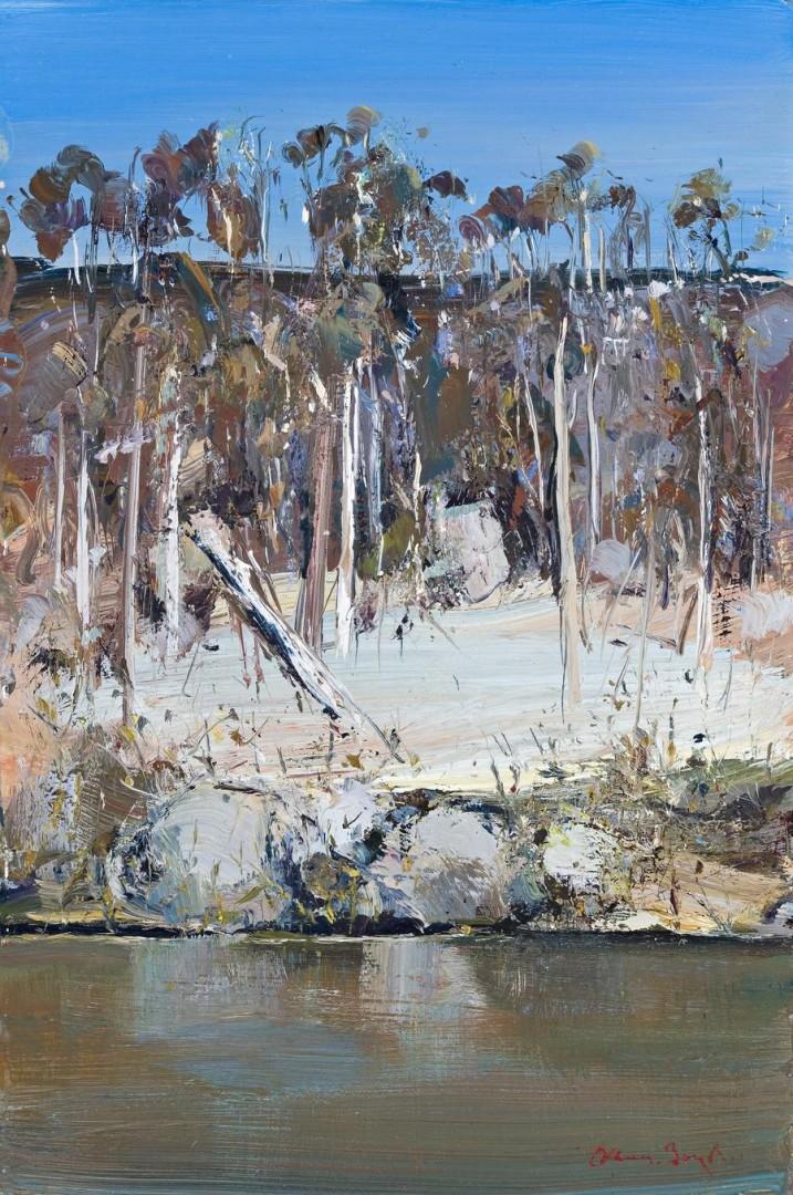 Arthur Boyd's Shoalhaven River