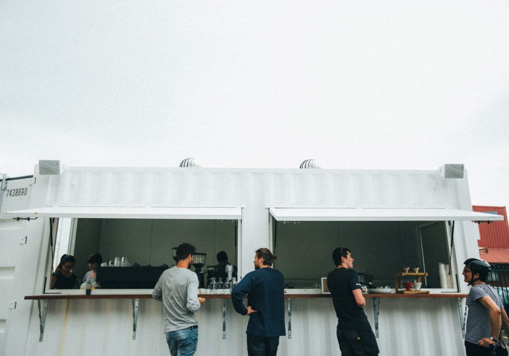 Pop-up Container Bar
