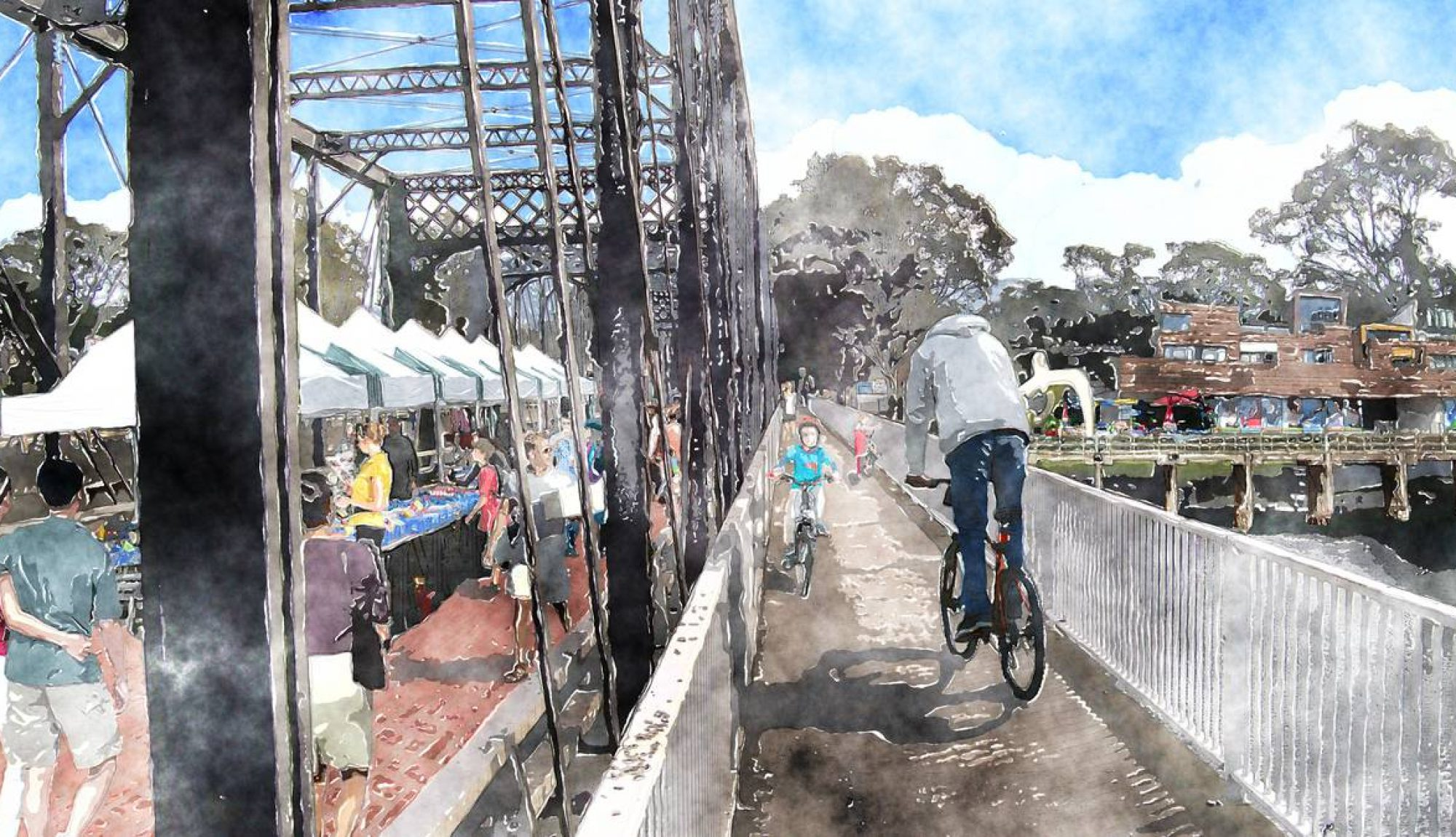 Reimagining The Shoalhaven Bridge
