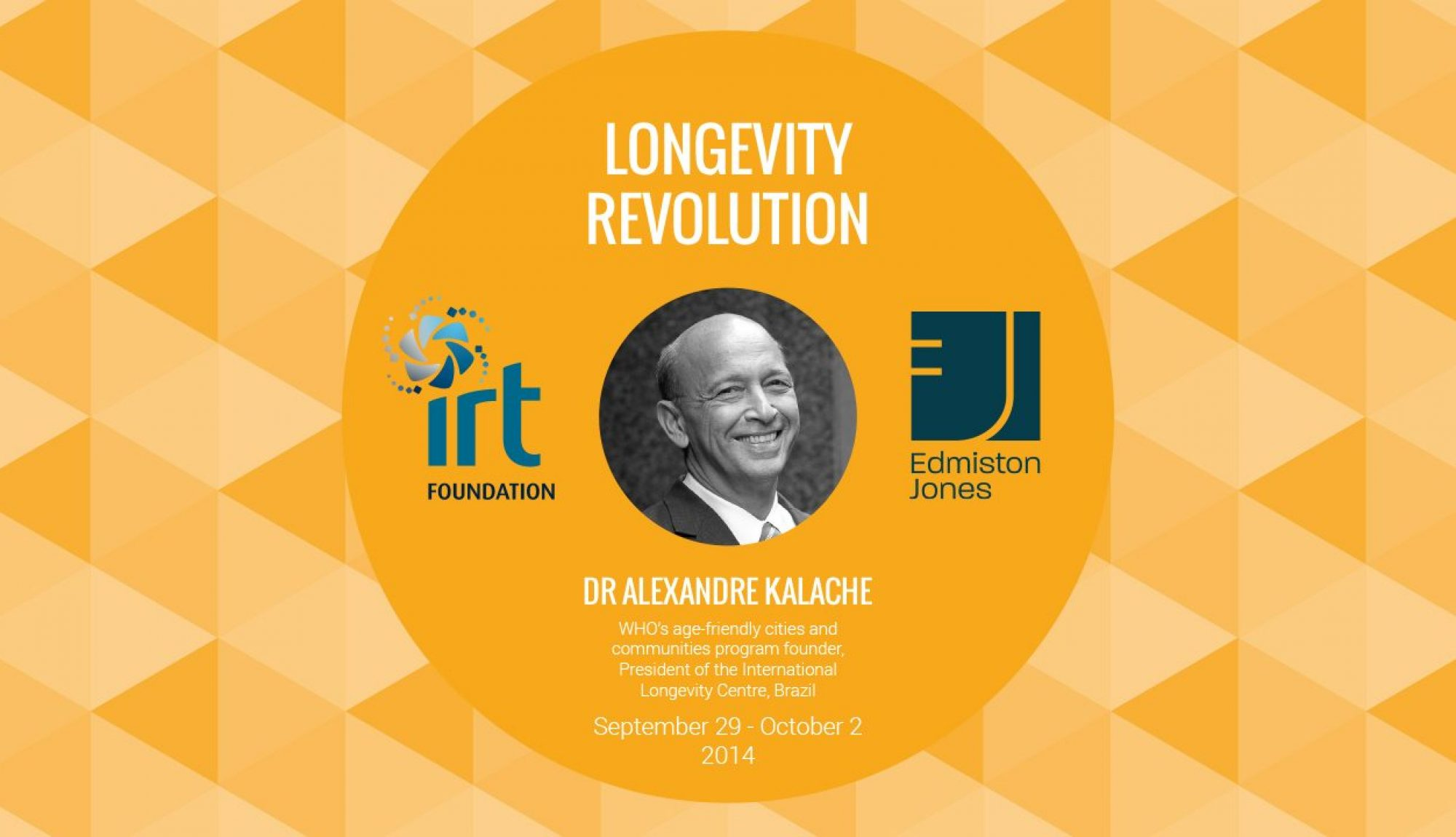 The Longevity Revolution:  economic crisis or mankind's greatest achievement.