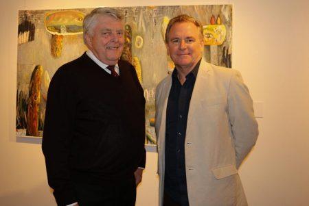 Sponsors  Ian Strathie and Mark Jones