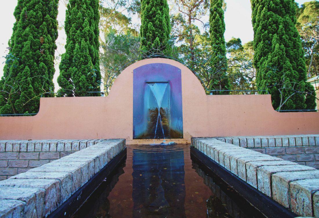 Broulee Memorial Gardens - Water Feature